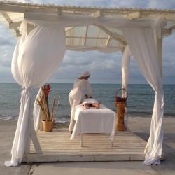 Masaje Playa, Hotel Partenon Beach, La Ceiba